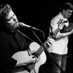 Greg Russell and Ciaran Algar at Folk at the Theatre 2018