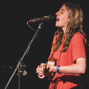 Amelia Coburn at Folk at the Theatre 2018