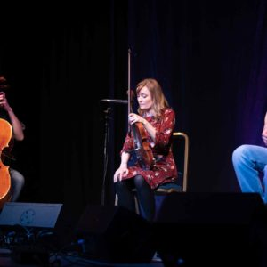 Emma Sweeny and friends at Folk at the Theatre, KMF 2019