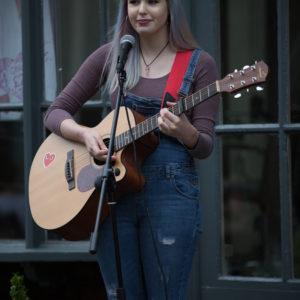 Martha Dawson playing at Saks, KMF 2017